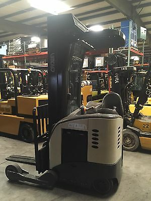 4000lb Crown Reach Forklift ( With Battery & Charger)