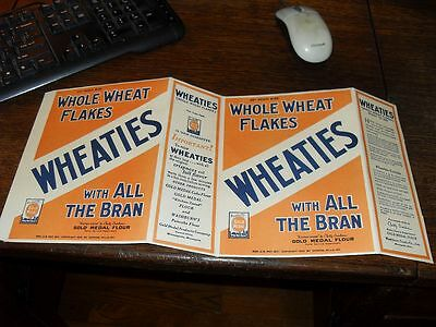 """1925 """"VINTAGE"""" Wheaties Cereal Box ...."""