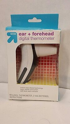 Ear & Forehead instant read Digital Thermometer