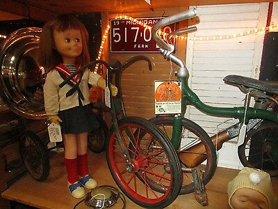 antique Velocipedes Sideway Topliff & Co Tricycle