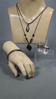 Black Sails Degroot Andre Jacobs Screen Worn Pirate Jewelry Set Multiple Episode