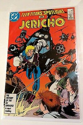 Teen Titans Spotlight on Jericho #6 DC Copper age Comic CB1515