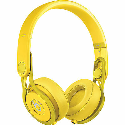 Beats By Dre Mixr Headphones - Yellow (100% Authentic - On Ear)