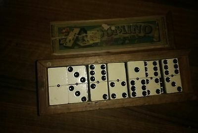 Vintage  Dominoes boxed.