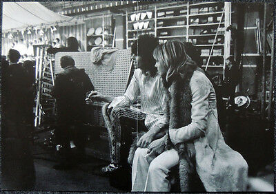 The Rolling Stones Poster Page 1968 Keith Richards & Anita Pallenberg