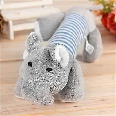 Pet Toy Puppy Chew Squeaker Squeaky Plush Sound Pig Elephant Duck For Dog Toys