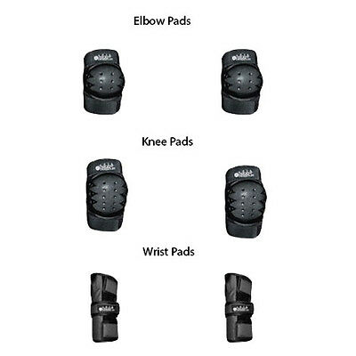 EP Universal Protective Gear, wrist guards, elbow pads & knee pads