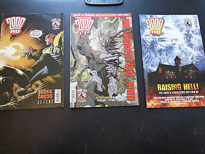 2000AD progs 1330, 1331, 1332 - 3 comic collection