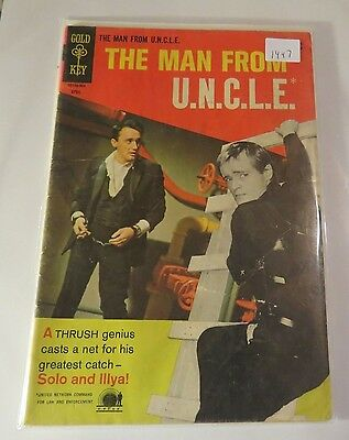 The Man from Uncle #22 Gold Key Silver age Comic CB1447