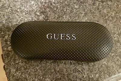 Guess black glasses spectacle case