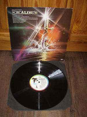 O.S.T. - Excalibur and other selections !  UK - LP  1981
