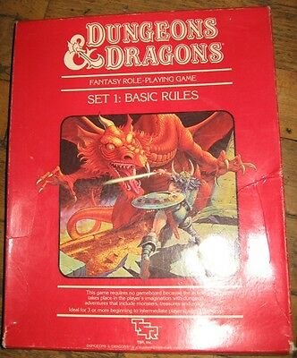 Dungeons and Dragons, Set 1: Basic rules