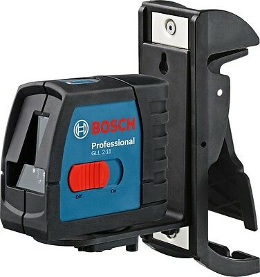 Bosch GLL 2-15 Line Laser Self levelling and can be switched