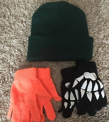 Boys Winter Hat And Glove Lot