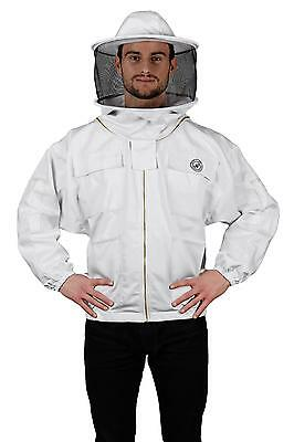 Humble Bee 310-L Polycotton Beekeeping Jacket with Round Veil