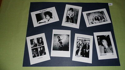 "The Waterboys Set of 6""x4""Inch Photos X7 Collectable Pop Memorabilia Prints J334"