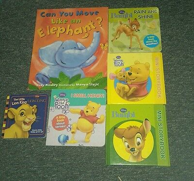 Lot of childrens books disney, lion king, bambi, winnie the pooh and more