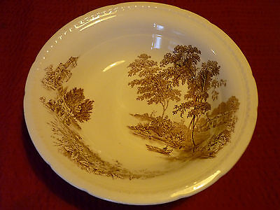 """Vintage Swinnertons Staffordshire Large Bowl """"The Ferry"""" Pattern. Exc Condition."""