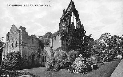 Dryburgh Abbey Ruins from East Abtei