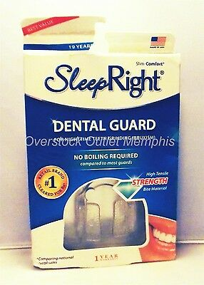 SleepRight Slim-Comfort Dental Guard for Teeth Grinding (Bruxism)