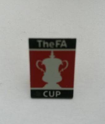 The FA Cup pin badge