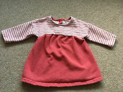 Next, Baby Girl, 3-6 Months, Pink And White Dress Top