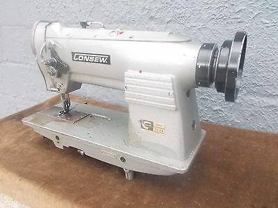 Industrial Sewing Machine Model Consew 255 B single needle walking foot- Leather