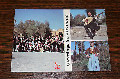 Greetings from Cyprus - Multiview Postcard