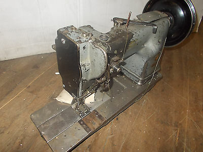 Industrial Sewing Machine Model Singer 145-103 two needle walking foot- Leather
