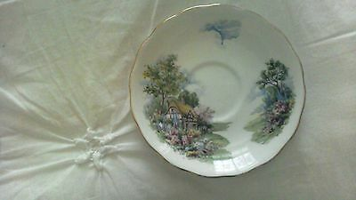 vintage royal vale fine bone china saucer made in england