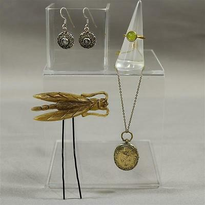 Black Sails Eleanor Hannah New Screen Worn Earrings Necklace Ring & Hair Pin S2