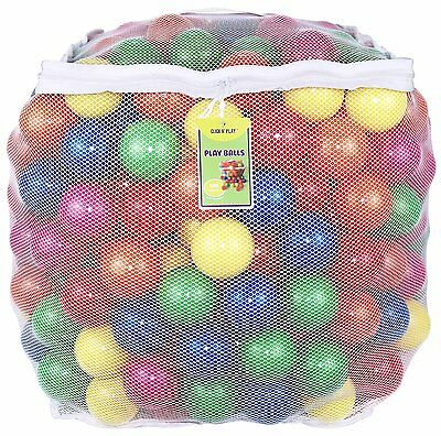 400 Crush Proof Plastic Pit Balls Fill Tent Playhouse Kiddle Pool Bounce House
