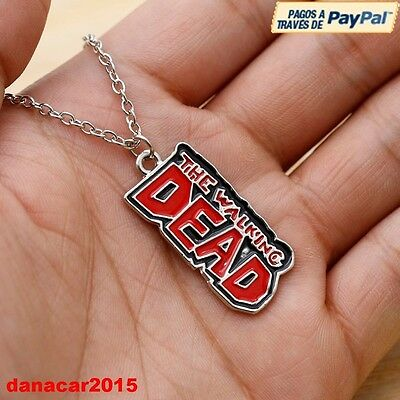 Colgante Y Cadena De The Walking Dead (Rick Carl Michone) Necklace Desde España