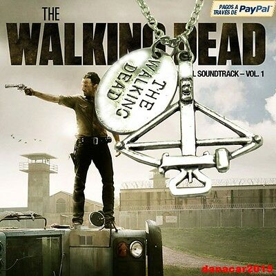 Colgante Y Cadena De Ballesta The Walking Dead (Rick Carl Daryl Dixon) Necklace