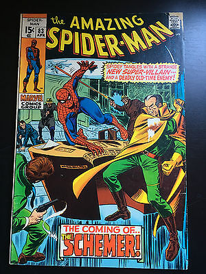 The Amazing Spider-Man (1963) #83 Coming of the Schemer!