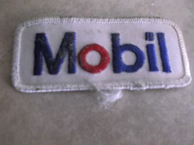 Shell Mobil gas station patch punk rock emo old school Americana collectible