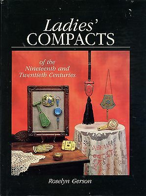 Antique Ladies Compacts - Types Makers Patents / Illustrated Book + Values