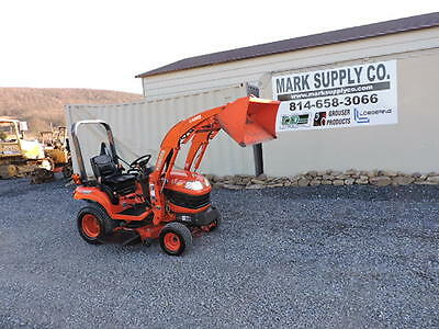 "2010 Kubota BX1860 4X4 Sub Compact Tractor Loader With 48"" Mower LA203 540 PTO !"