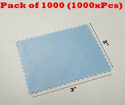 "1000 Microfiber Cleaning Cloth 2x3"" 60mmx80mm For Phone Screen Glass Camera Lens"