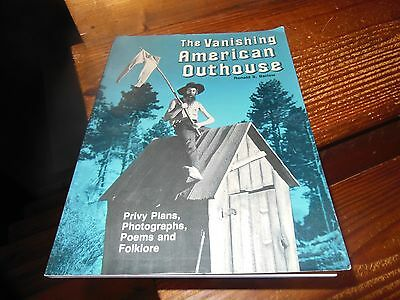 The Vanishing American Outhouse by Ronald S Barlow - 1989 first edition