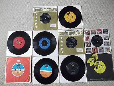 "SOUL R&B 10 x 7"" Singles DIANA ROSS Detroit Emeralds OTIS REDDING Four Tops ETC"