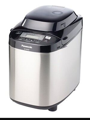 Panasonic SD-ZB2502BXC Bread Maker with 27 programmes Stainless Steel / Black -