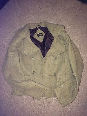 Country Style Ladies Tweed Jacket Blazer Hunting Shooting Fishing