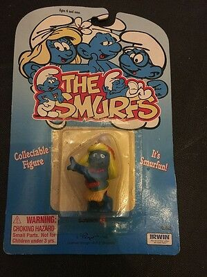 The Smurf Figure Still In Packaging