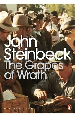 The Grapes of Wrath by John Steinbeck - Paperback - NEW - Book