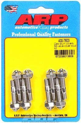 Arp 400-7603 Cast Alum Covers Ss Valve Cover Stud Kit