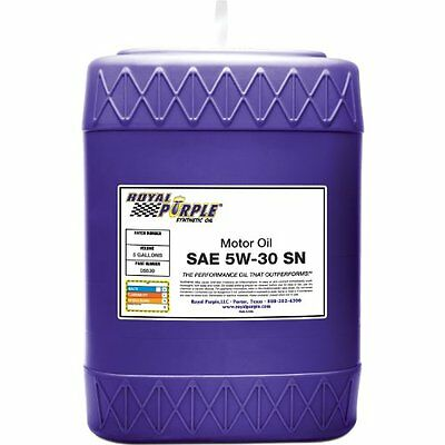 Royal Purple 5530 Multi-Grade Motor Oil Sn 5W30 5 Gal. Pail