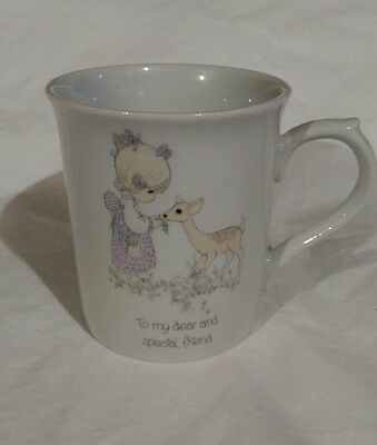 "Vintage 1985 Precious Moments, ""To my Dear and Special Friend"" Coffee mug"