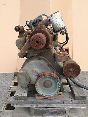 F163 Continental engine CORE for YALE lift truck, spec#8087