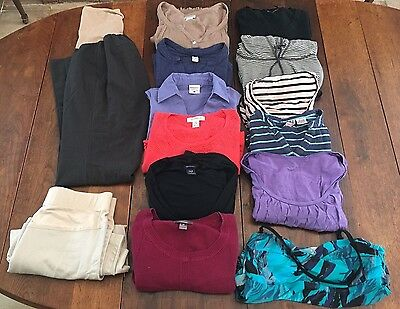 Maternity Clothes Lot Small Medium Tops, Pants, Skirt, Swim Top